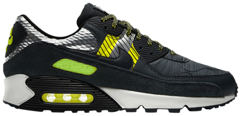 giay nike 3m x air max 90 anthracite volt cz2975 002