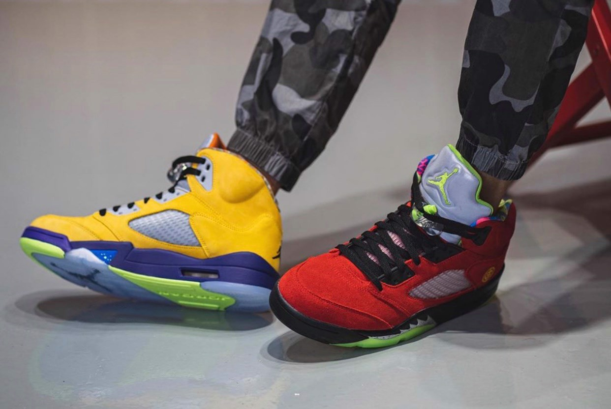 Giày  Nike Air Jordan 5 Retro SE 'What The' CZ5725-700