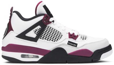 Nike Paris Saint Germain x Air Jordan 4 Retro GS 'Bordeaux' CZ6509-100