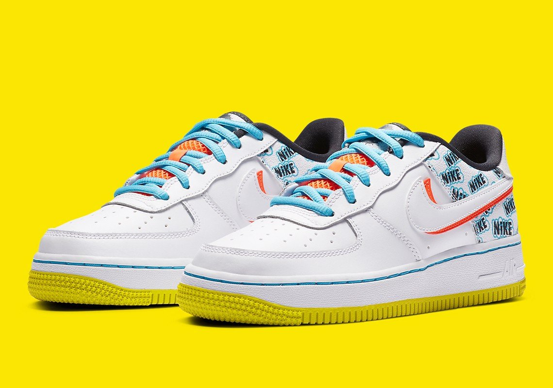 Nike Air Force 1 Low GS 'Back To School' CZ8139-100