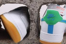 Nike Air Force 1 Low 'White Bright Blue Green' DA4660-100