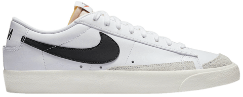 giay nike blazer low 77 vintage white black da6364 101