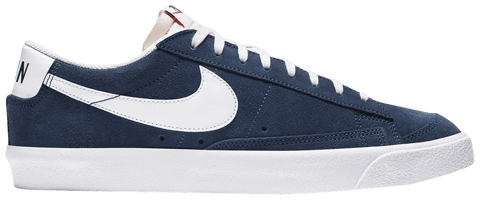 giay nike blazer low 77 suede midnight navy da7254 400