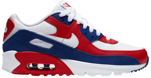 Nike Air Max 90 Leather GS 'USA' DA9022-100