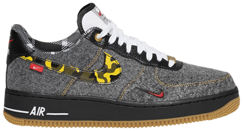 Nike Air Force 1 Low 'Camo Denim Remix' DB1964-001
