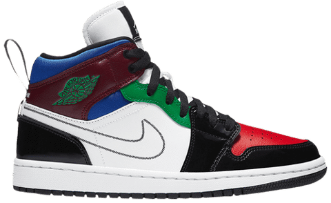 Nike Wmns Air Jordan 1 Mid SE 'Multi-Color' DB5454-001