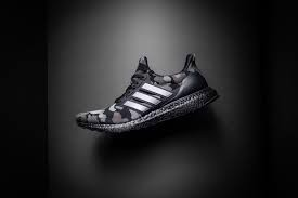A Bathing Ape x Adidas UltraBoost 4.0 'Black Camo' G54784