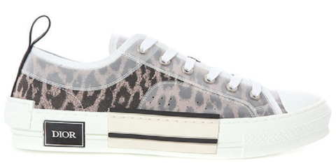 giay dior 19fw leopard print canvas b23 low top sneakers 3sn249yql 369