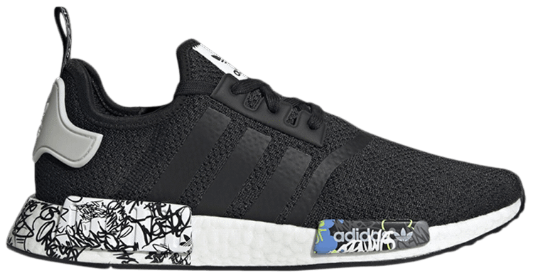 Adidas NMD R1 'Black Graffiti' EH0779