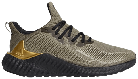 giay adidas alphaboost legacy green gold metallic eh3321