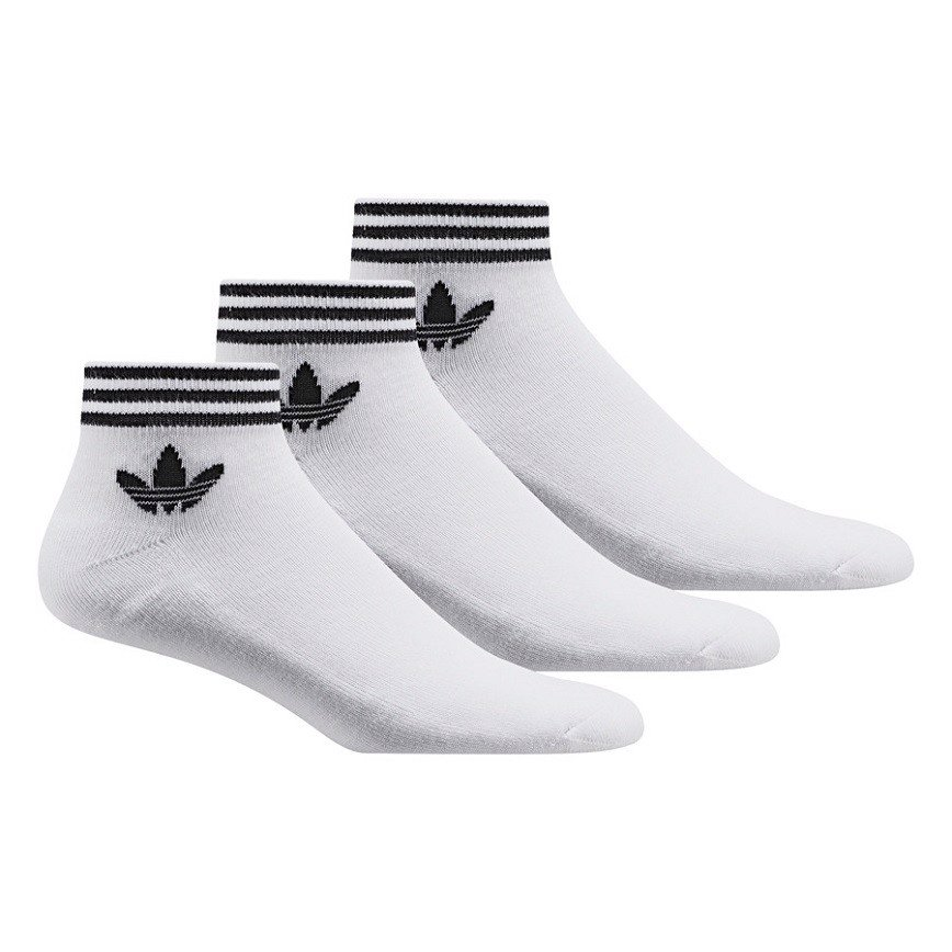 Tất Adidas Originals Ankle Socks In White AZ6288
