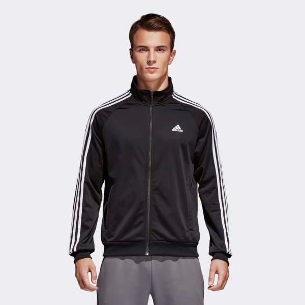 Áo Adidas Essentials Track Jacket Black BR1024