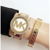 Michael Kors Women's Parker Gold Tone Watch MK5784