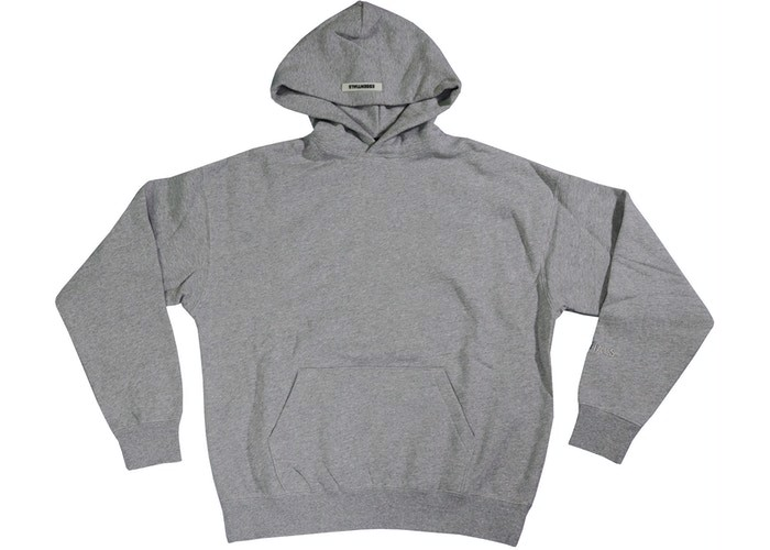 FEAR OF GOD ESSENTIALS 3M Logo Pullover Hoodie Dark Heather Grey