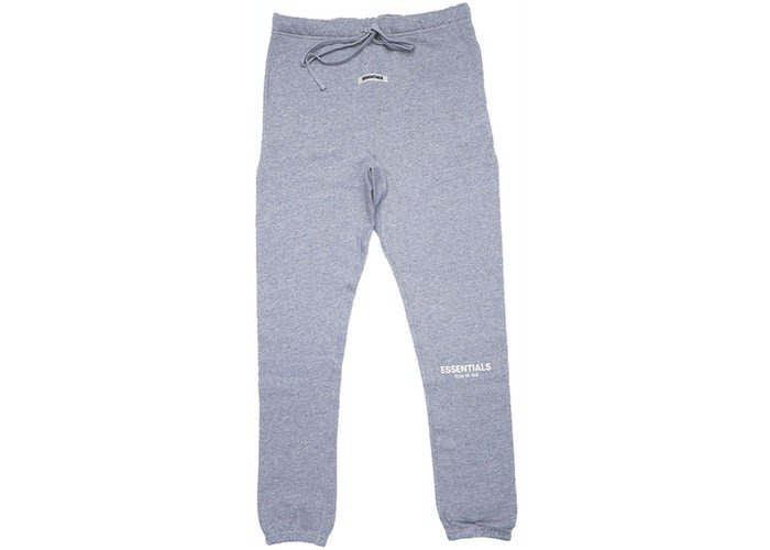 FEAR OF GOD ESSENTIALS Sweatpants Dark Heather Grey