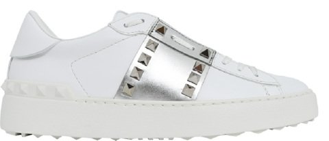 giay valentino rockstud untitled leather sneaker uw2s0a01 hel cz7