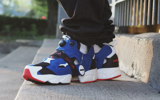 Giày InstaPump Fury Boost Blue Black Red FY8776