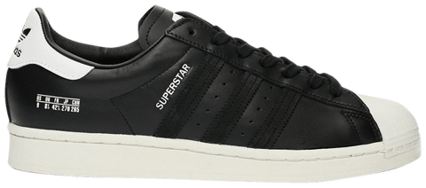 giay adidas superstar size tag core black fv2809
