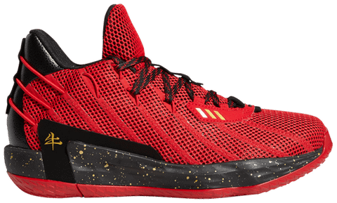 Adidas Dame 7 'Chinese New Year' FY3442