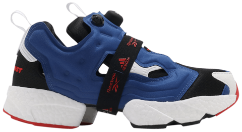 giay instapump fury boost blue black red fy8776