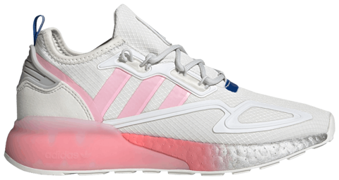 giay adidas wmns zx 2k boost white true pink fz3900