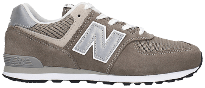 Giày New Balance 574 Kids 'Triple Grey' GC574GG