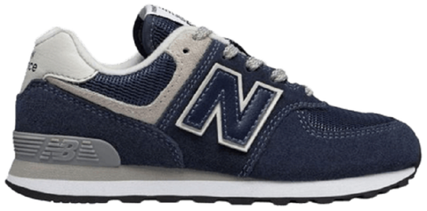 giay new balance 574 kids navy gc574gv