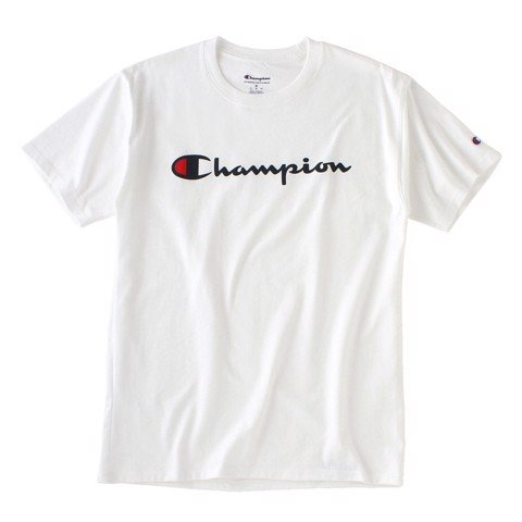 Champion Classic Graphic Logo Jersey T-Shirt GT23H White
