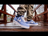Giày Nike Air Force 1 '07 LV8 Dusty Blue DH0265-400