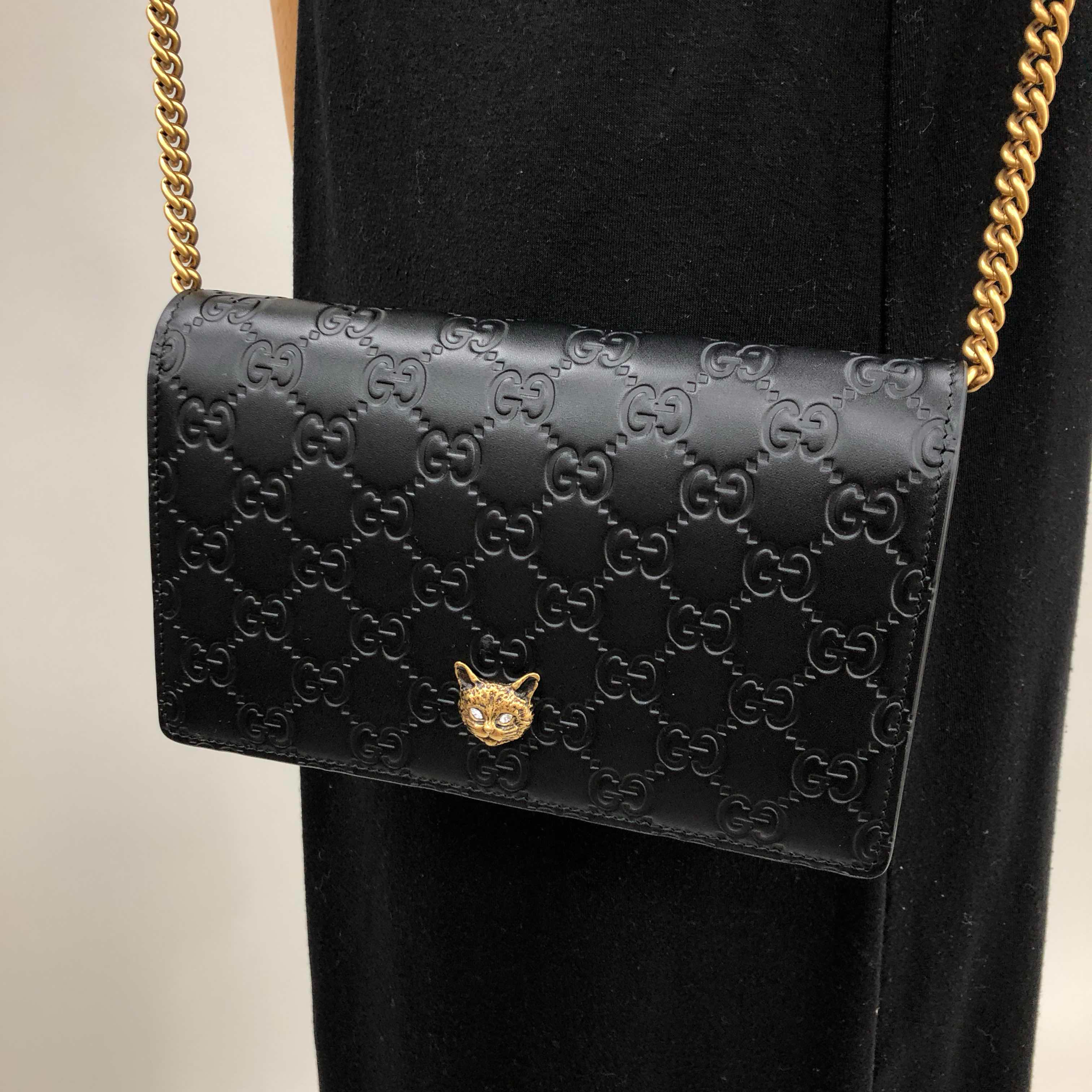 Túi Gucci Chain Clutch Bag 548060 0G6FT 1081