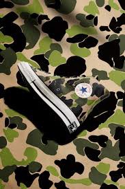 Giày Converse Chuck Taylor All Star High 'Archival Camo' 166714C