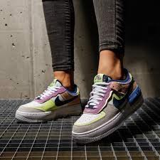 Giày Nike Wmns Air Force 1 Shadow 'Crimson Tint Volt' CU8591-001