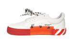 Giày Off-White Vulc Sneaker Low White Red OMIA085R21LEA002-0125