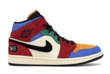 Nike Blue The Great x Air Jordan 1 Mid 'Fearless' CU2805-100