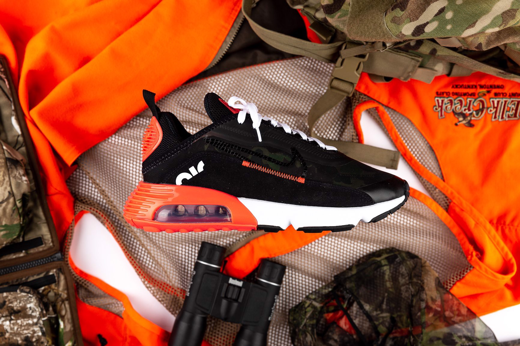 Nike Air Max 2090 'Infrared Duck Camo' CU9174-600