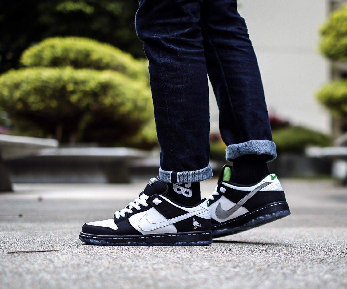 Nike Jeff Staple x Dunk Low Pro SB 'Panda Pigeon' BV1310-013