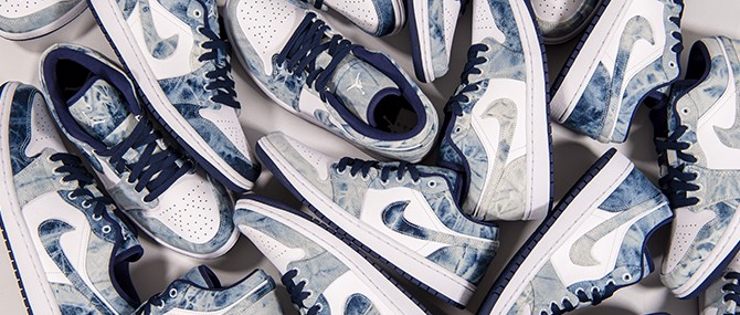 Nike Air Jordan 1 Low SE 'Washed Denim' CZ8455-100