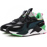 Puma RSX Toys Jr Black Blue Green 369628-01