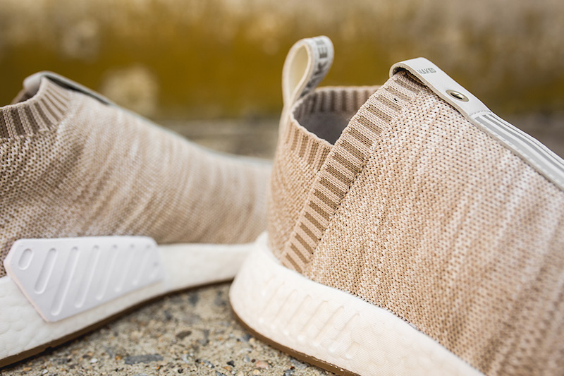 Adidas Kith x Naked x NMD_CS2 Primeknit 'Tan' BY2597