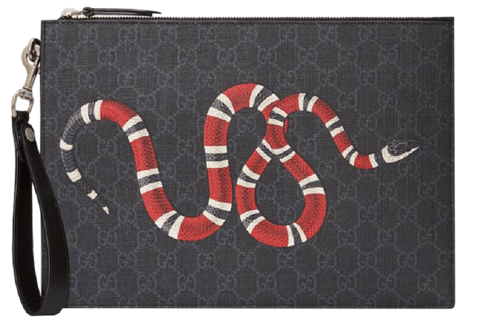 tui gucci bestiary pouch with kingsnake 473904 gzn1n 1058