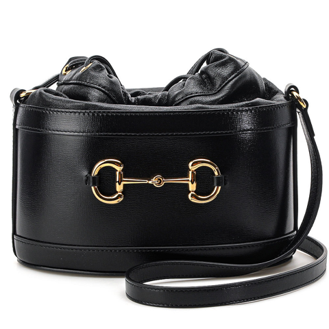 tui gucci black horsebit bucket bag 20fw 602118 1dbyg 1000