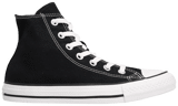 Converse Chuck Taylor All Star Shoes Hi Top in Black M9160