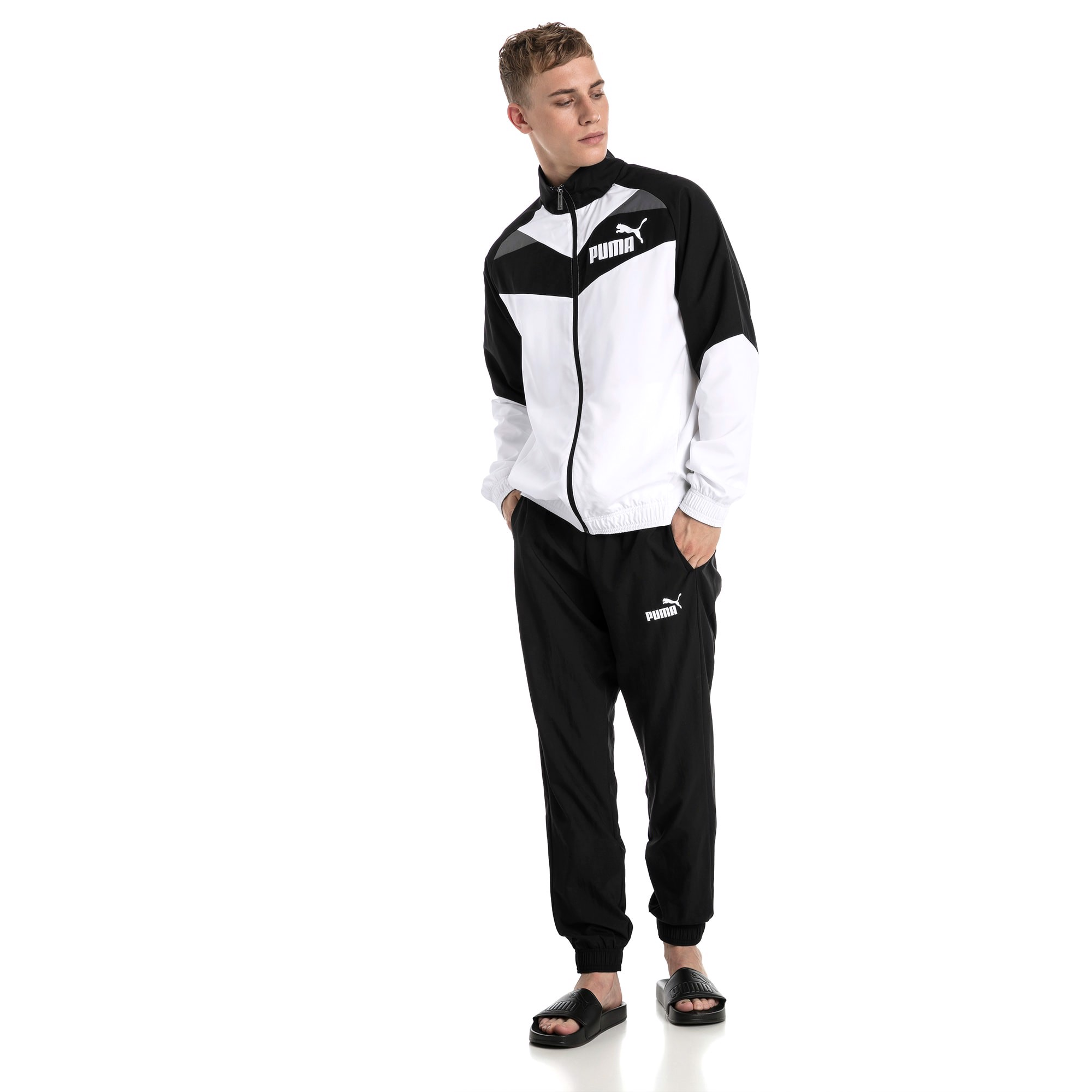 Puma Men's Iconic Woven Track Suit 851564-01