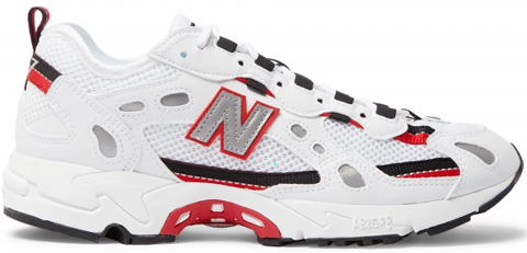 giay new balance 452 white black red ml827aab