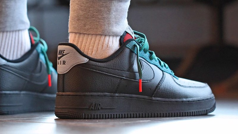Nike Air Force 1 LV8 4 GS 'Black Obsidian Mist' CN5715-001