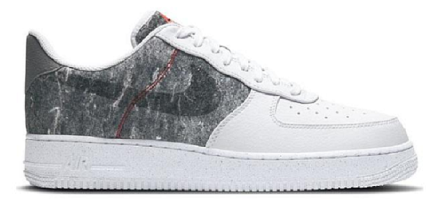 giay nike air force 1 07 recycled white light smoke grey cv1698 100