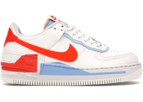 Nike Air Force 1 Shadow SE 'Team Orange Blue' CQ9503-100