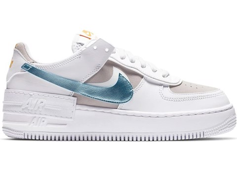 Nike Air Force 1 Shadow White Vast Grey Glacier Ice DA4286-100
