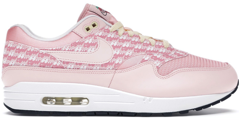 giay nike air max 1 pink strawberry lemonade cj0609 600
