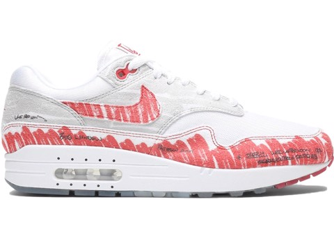 Nike Air Max 1 ' Sketch To Shelf White' CJ4286-101